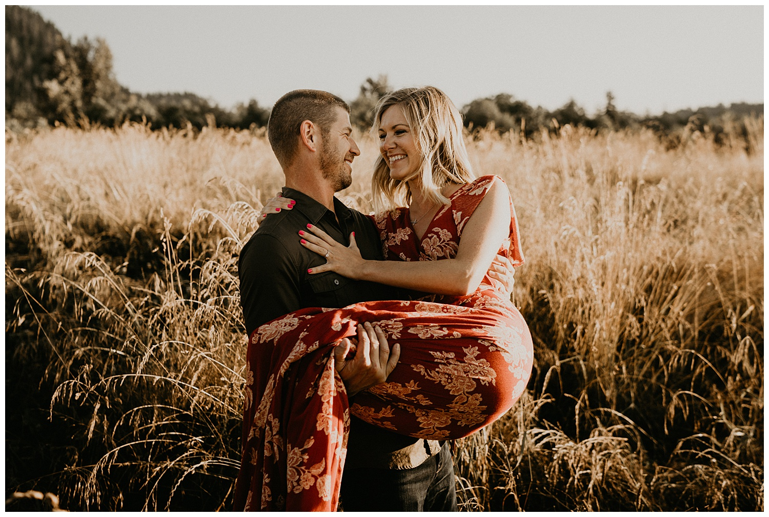 greater Seattle area engagement session