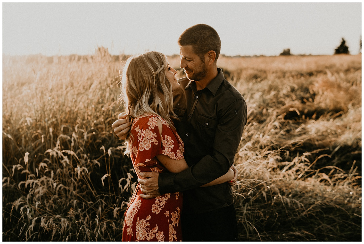 south sound engagement session