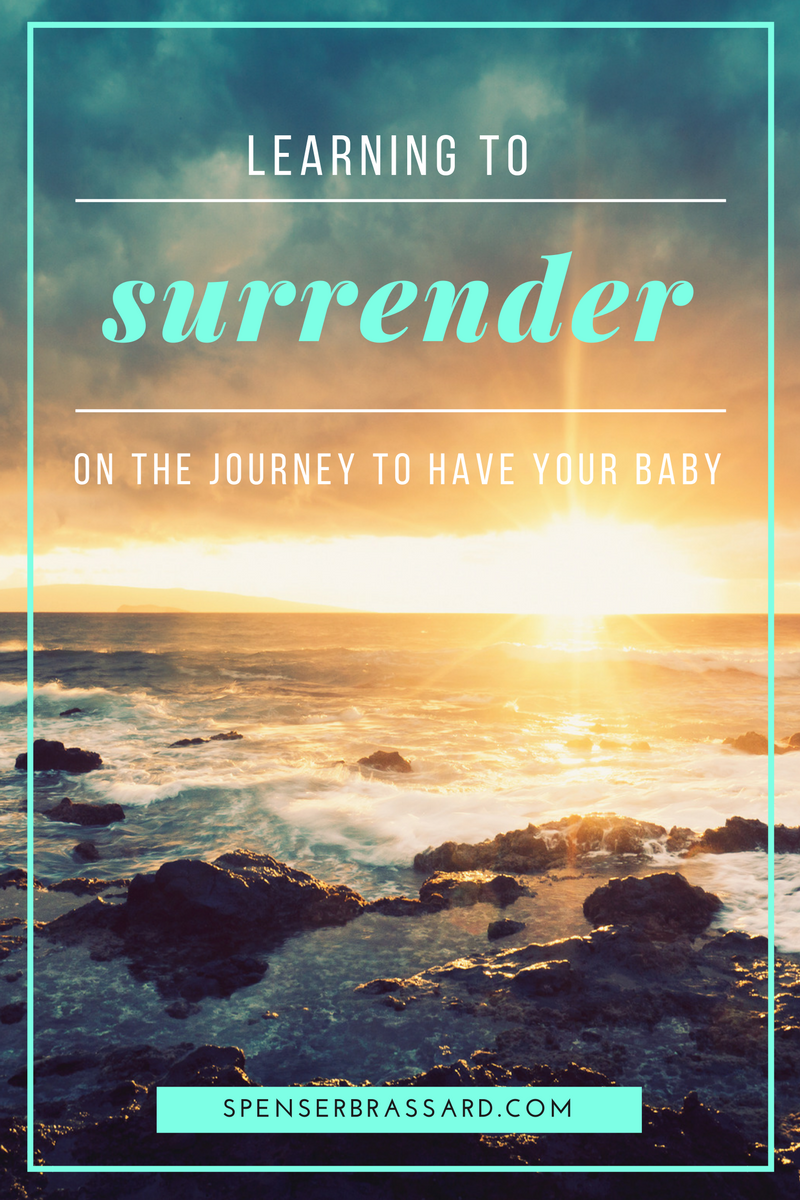 how to surrender and get pregnant