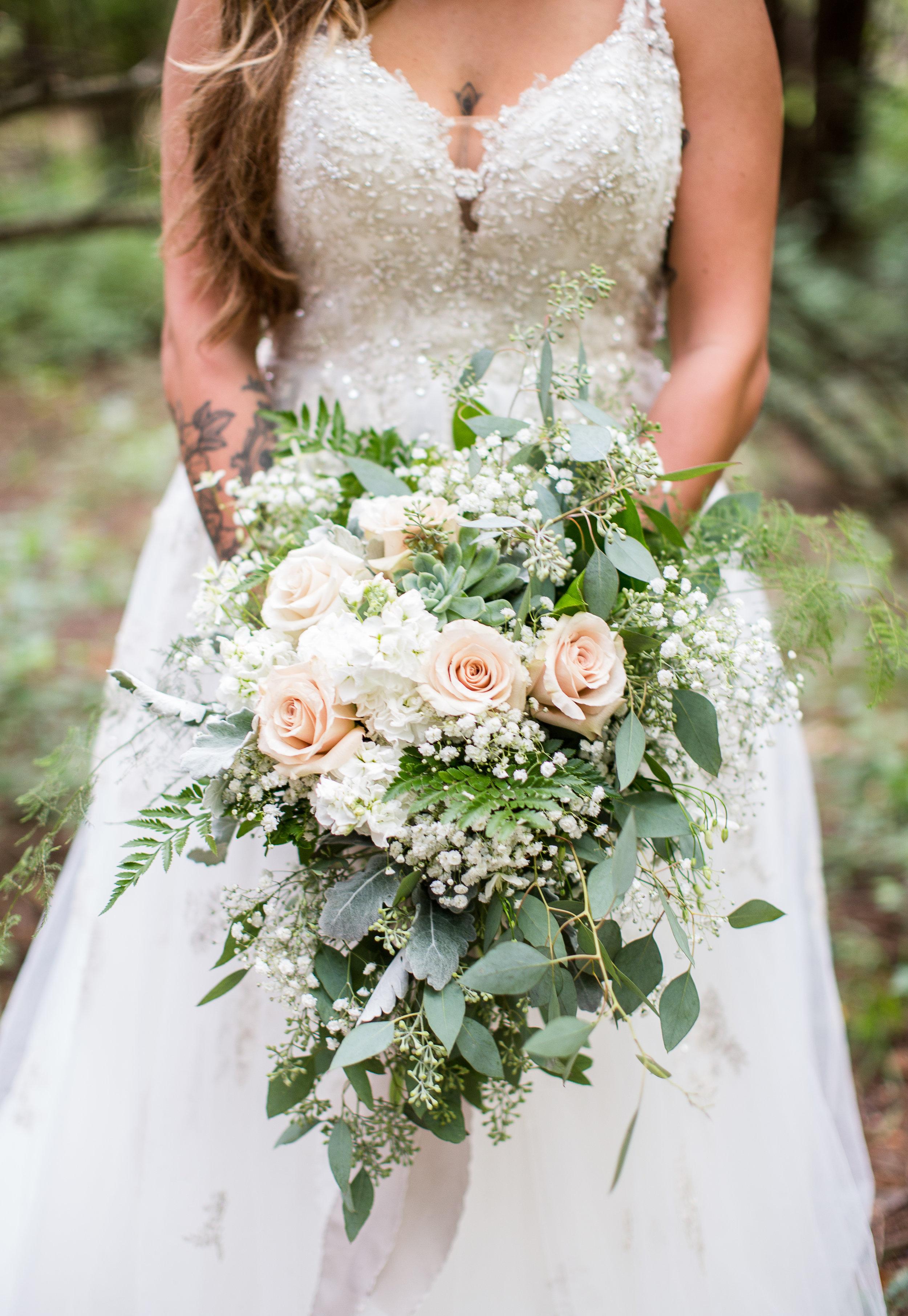 Fairy tale woodsy wedding
