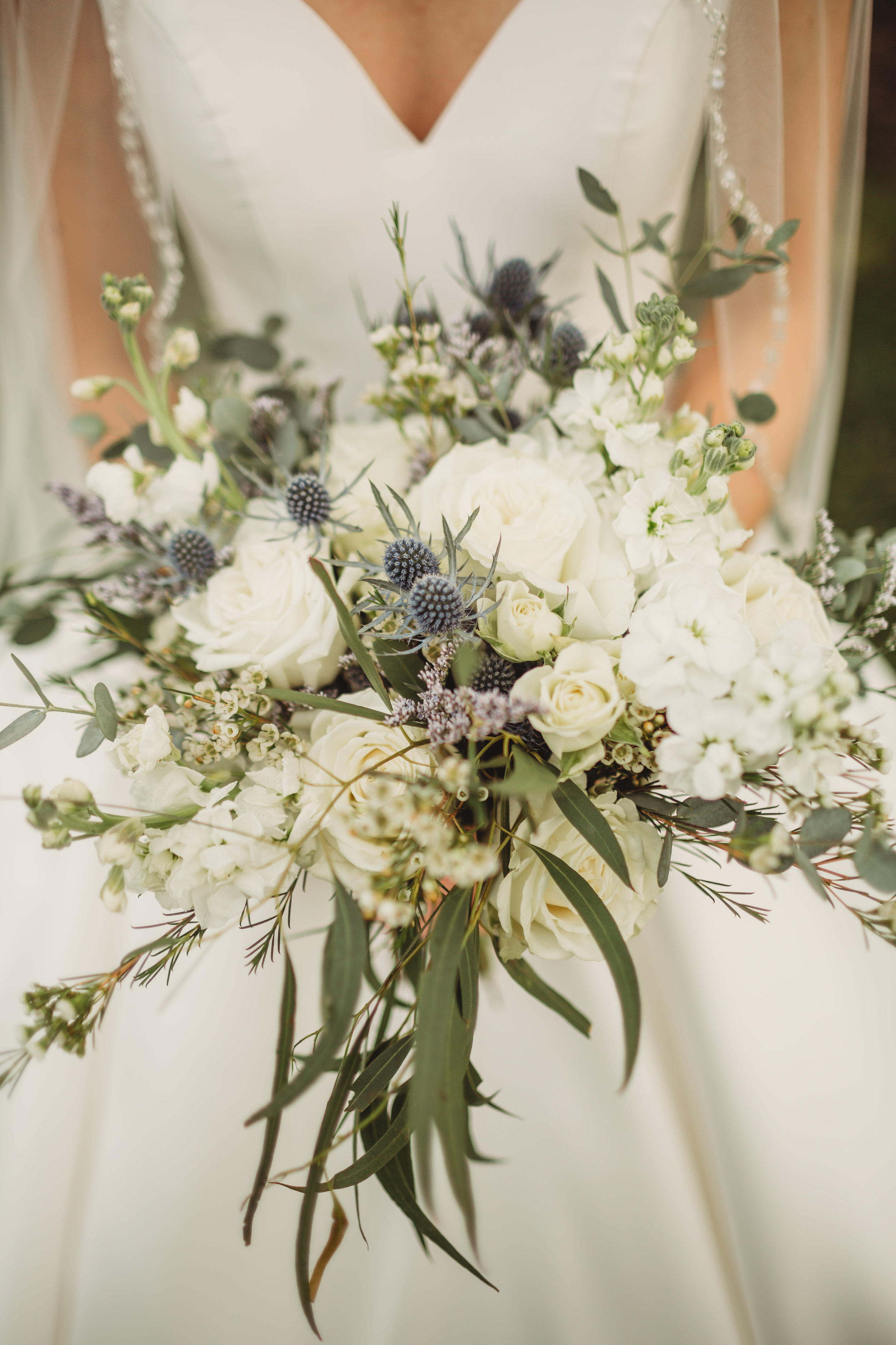 Summer White Bouquet