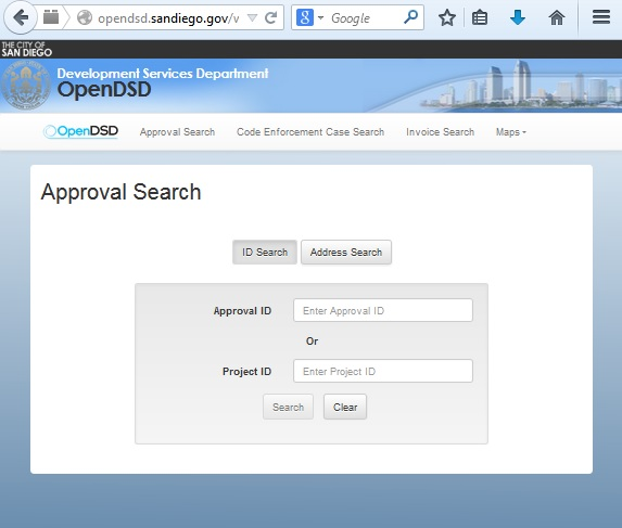 Screenshot from  OpenDSD Login page .