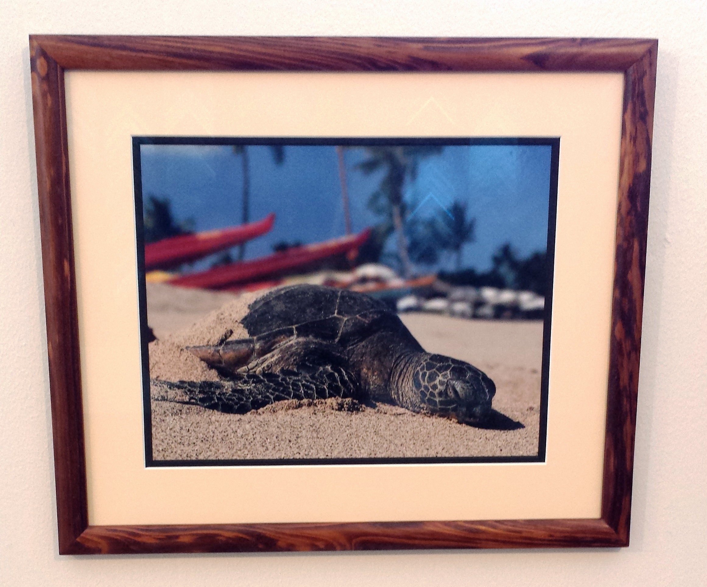 photography - Custom Frame and Mat for Vacation Photographs