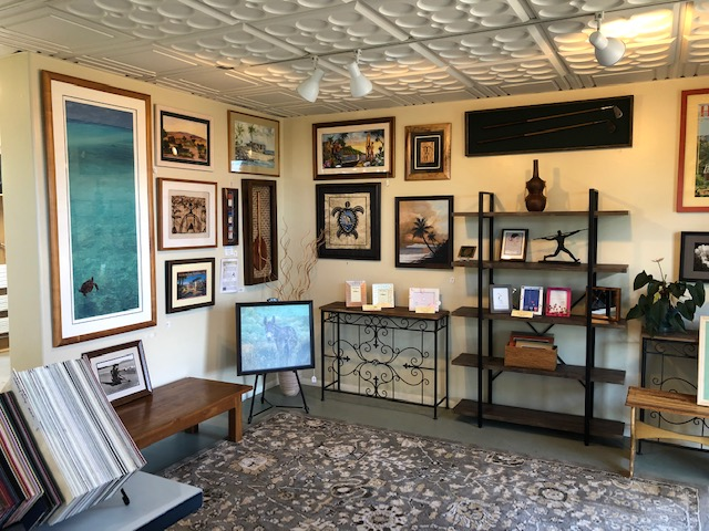 SHOWROOM - Our showroom features local artists and artisans, ready-to-purchase Koa Frames and art prints.