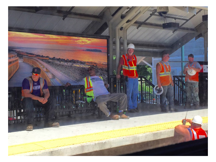 19  |  Railway Workers at Milford Station