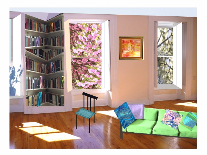 Room with Green couch & books.jpg