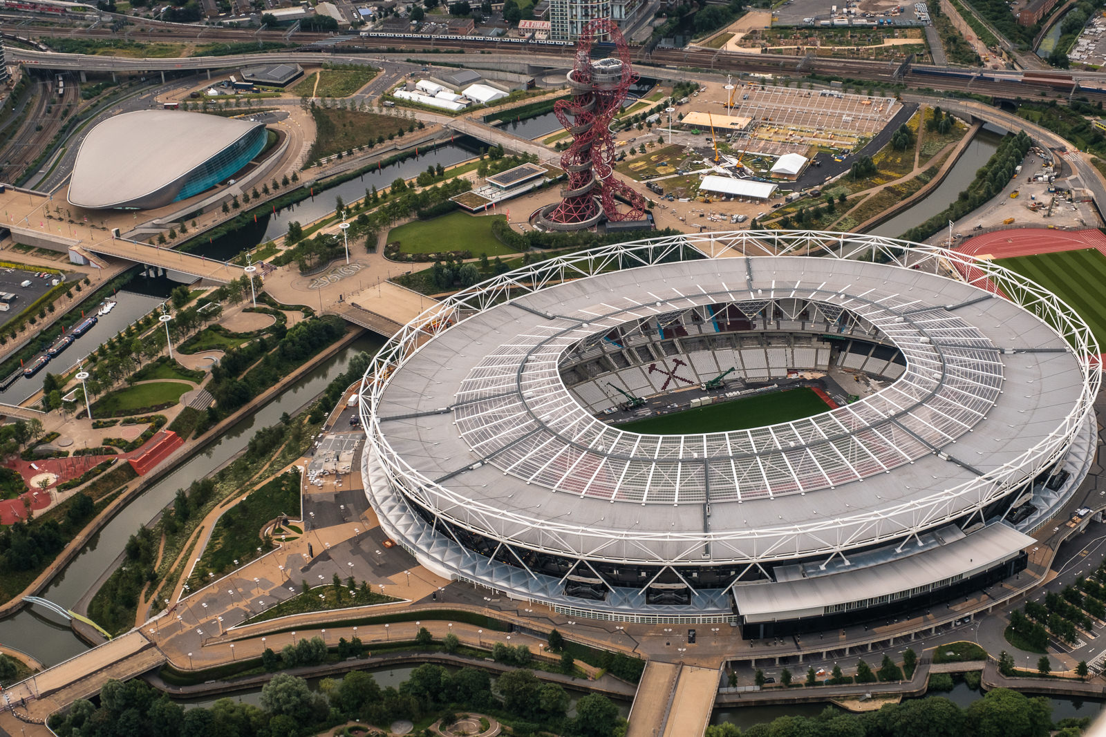 The Olympic Park - Stratford. The stadium is now home to West Ham FC. ISO640 16-55mm f9 1/250s