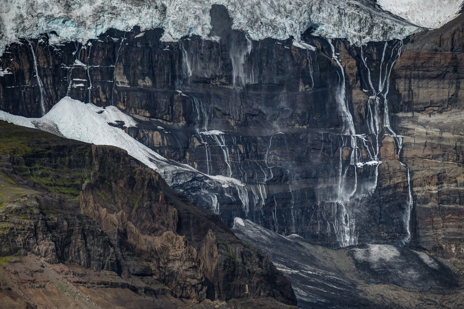 Wall of tears, Skaftafell