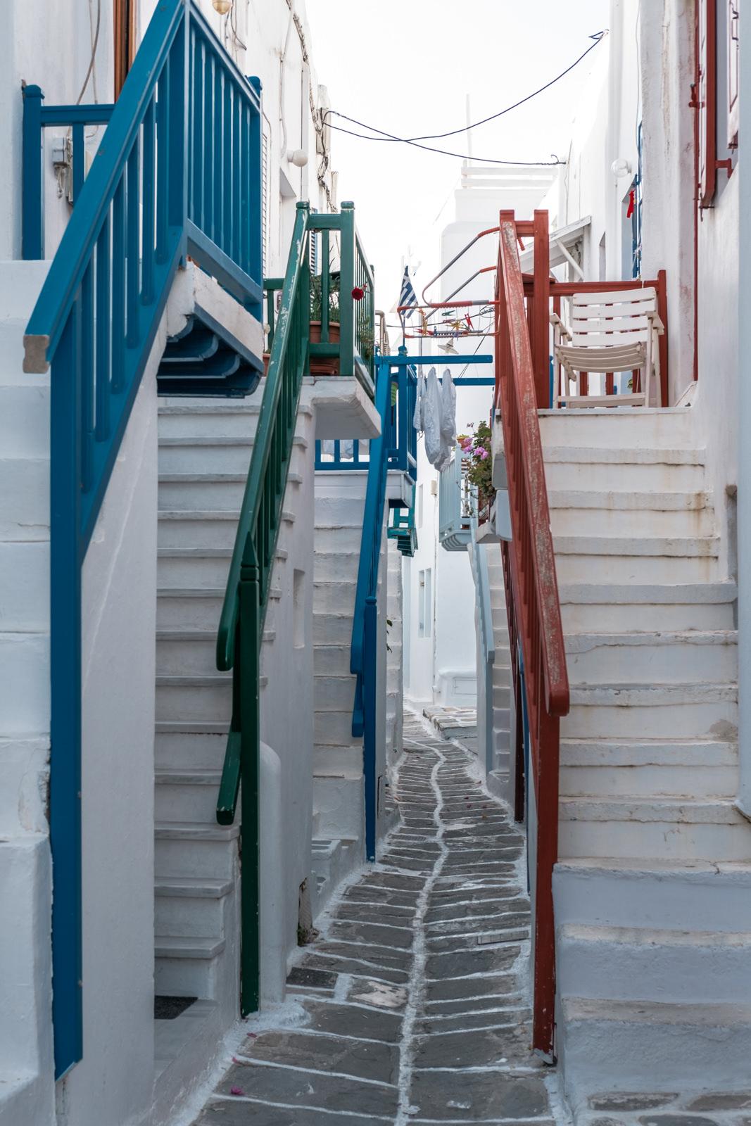 Chora old town, Mykonos