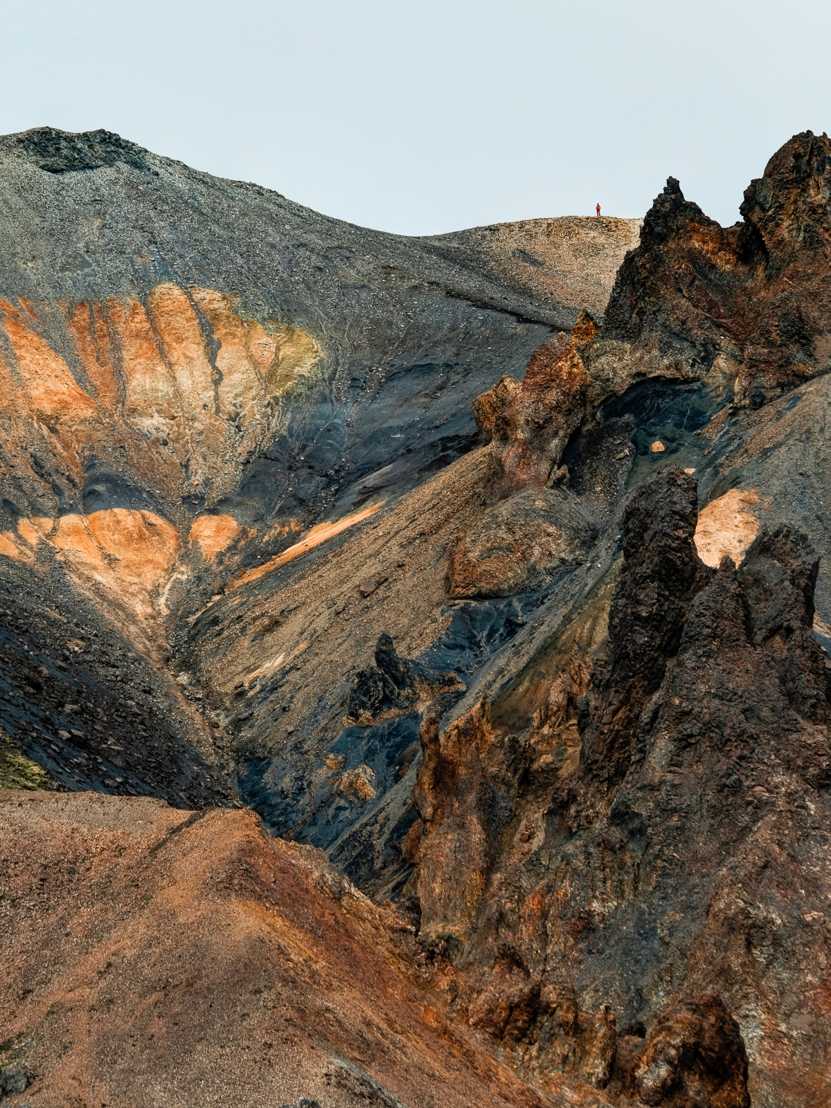 on the top of the rock... Landmannalaugar   (XF 50-140mm f2.8 at 188mm 1/500 f6.4 ISO200) with x1.4 teleconverter.