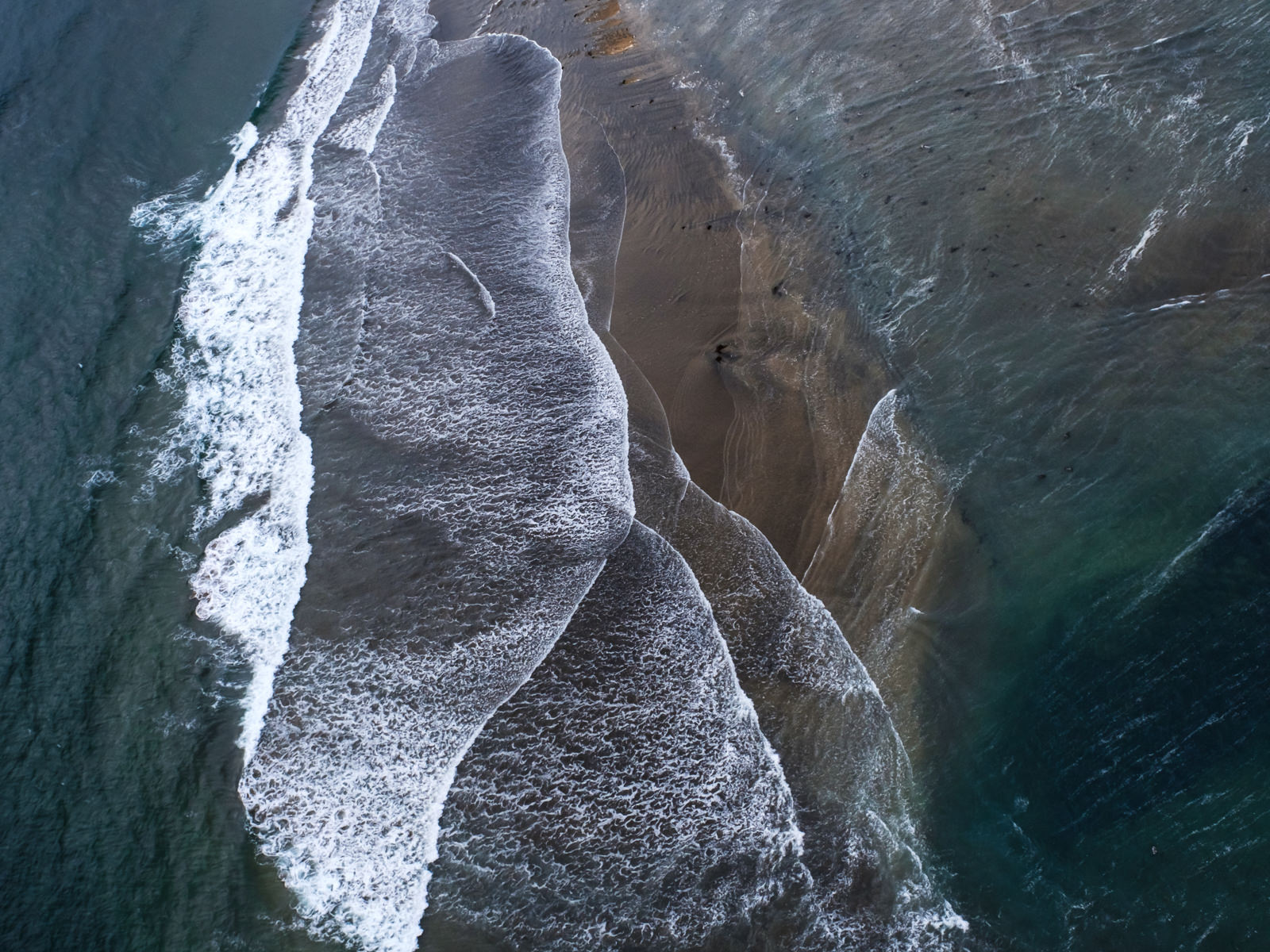Icelandic layers. West Iceland coast line from above, shot taken from a small airplane   (XF 16-55mm f2.8 at 23mm 1/1000 f7.1 ISO800)
