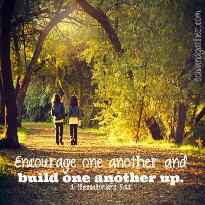 encourage one another sowandgather.com