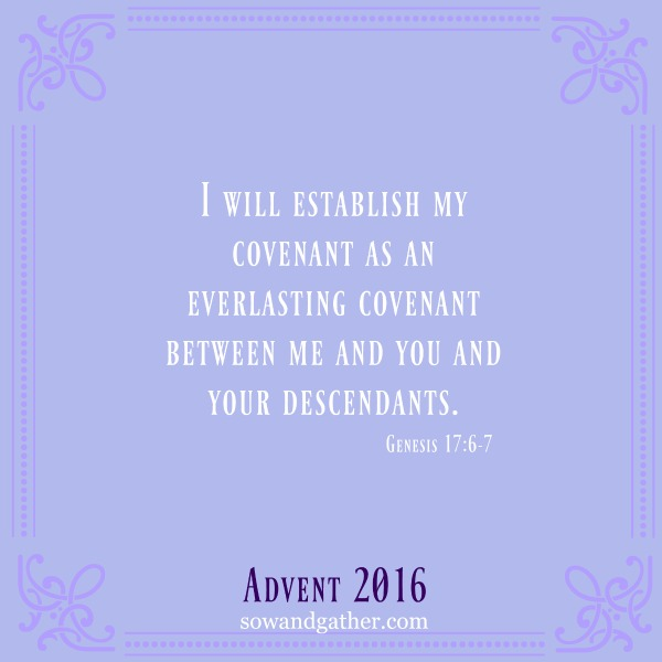 God keeps His Promises #sowandgather #advent