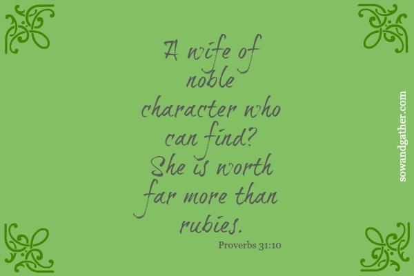 Proverbs31 #sowandgather