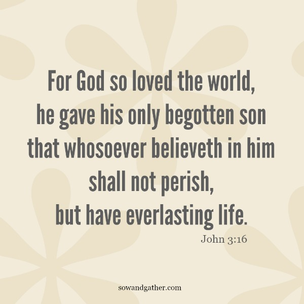 #love #ForGodSoLove #john3:16