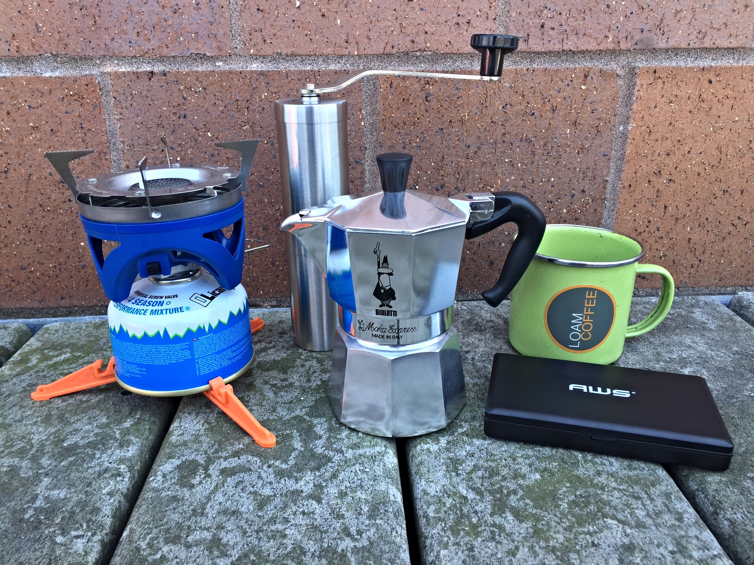 Your Moka pot set up ...