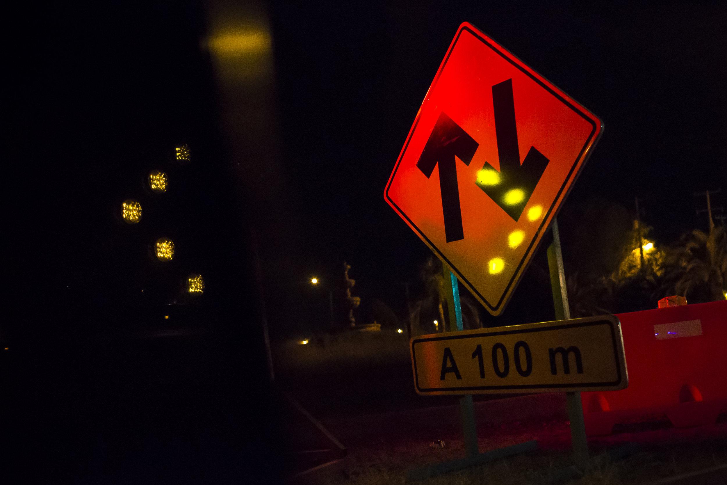 A road sign in Piedras Negras.  Photo by Martin do Nascimento