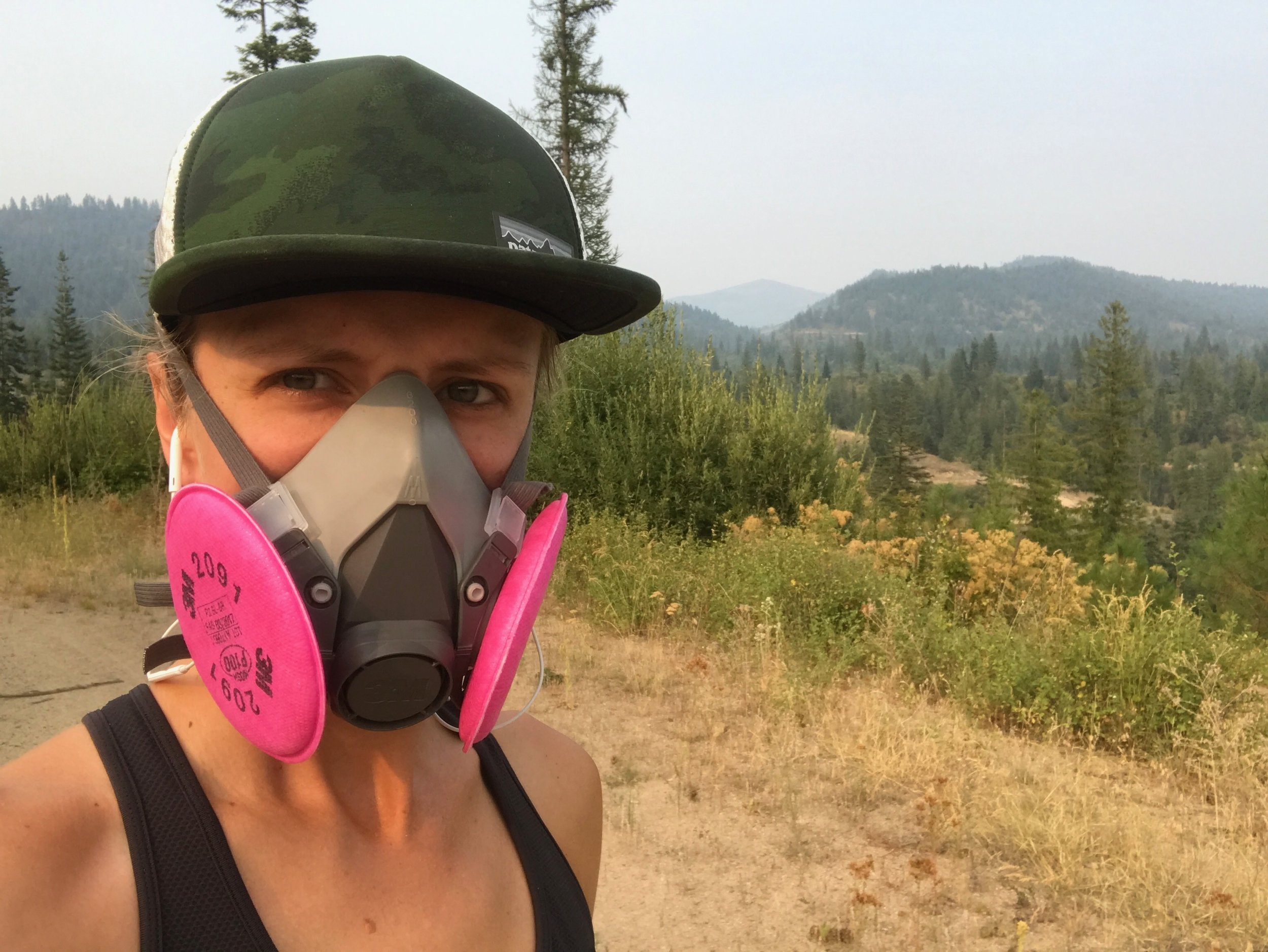 pacing the Colville Wilds, Fire Season 2017