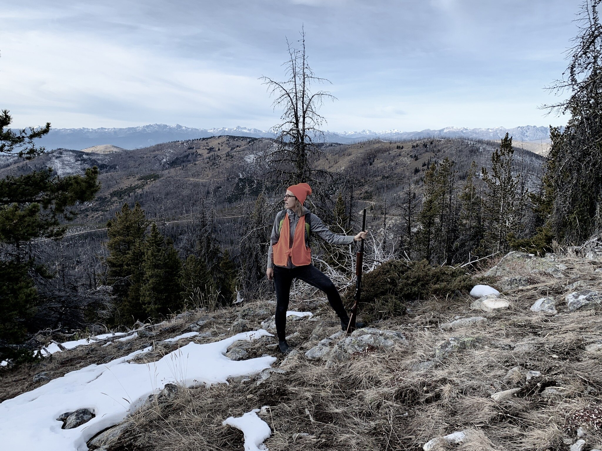 between howls, Okanogan Highlands, Nov 2019