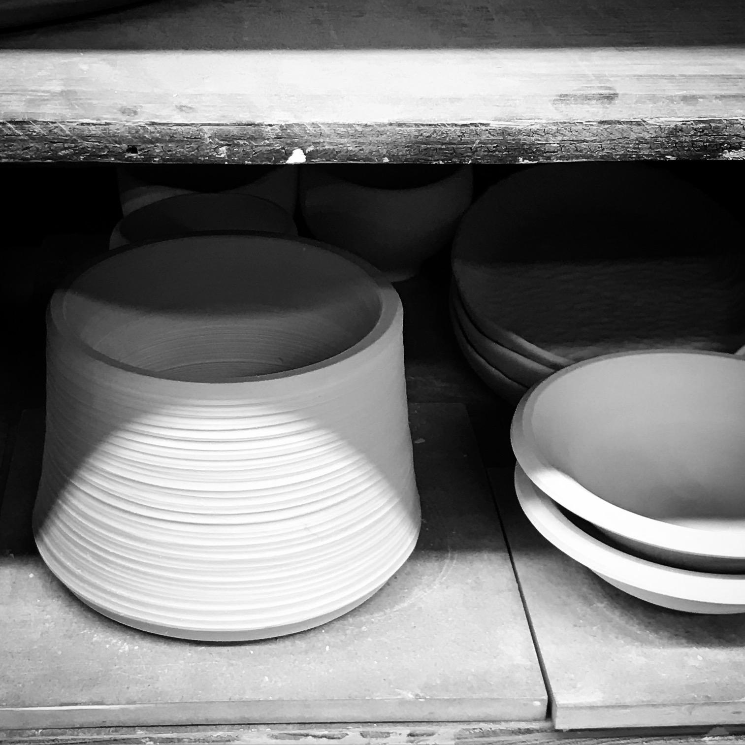 porcelain raised dog bowl by esselhaus