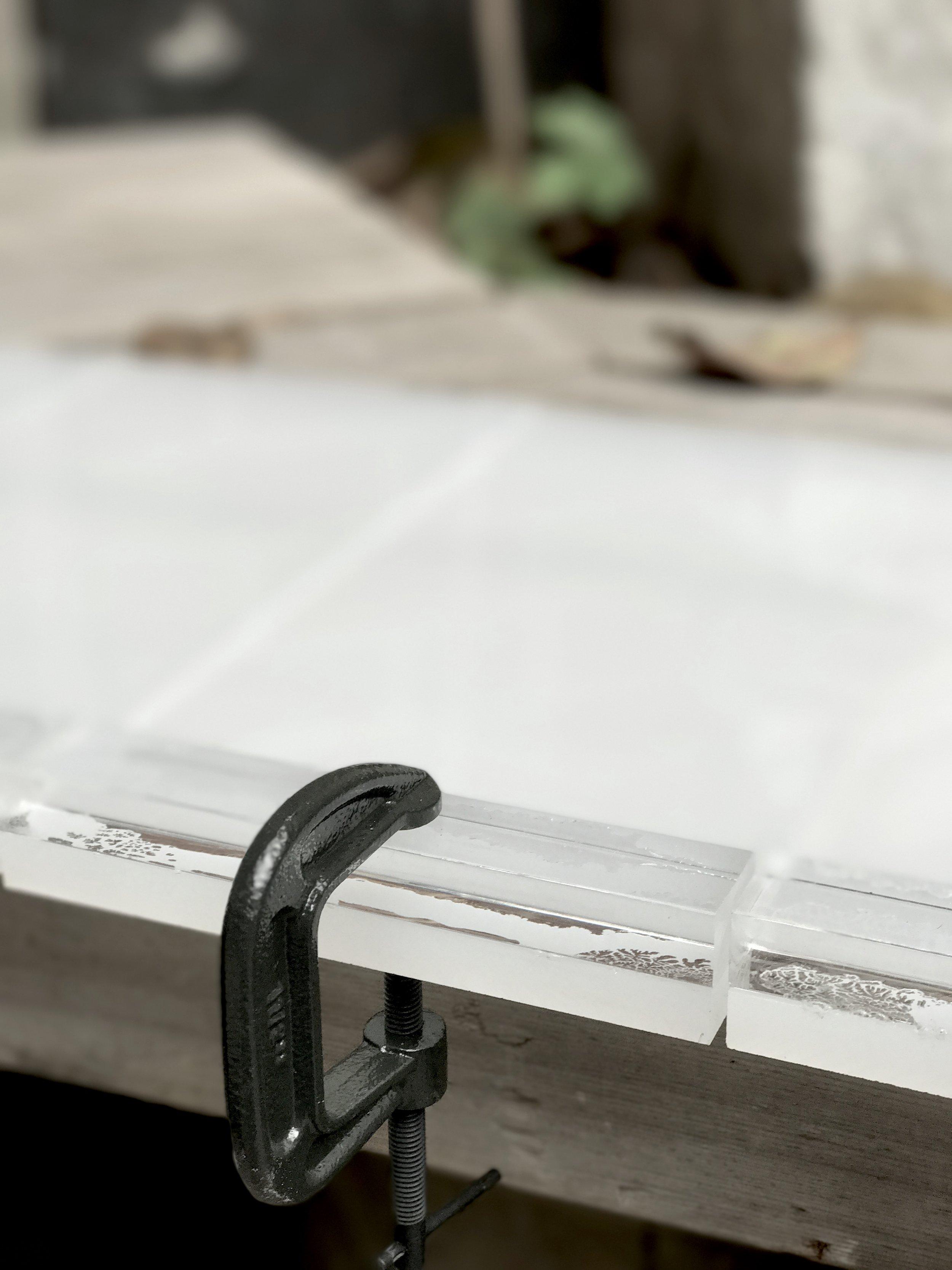 custom acrylic plaster mold making cottle boards