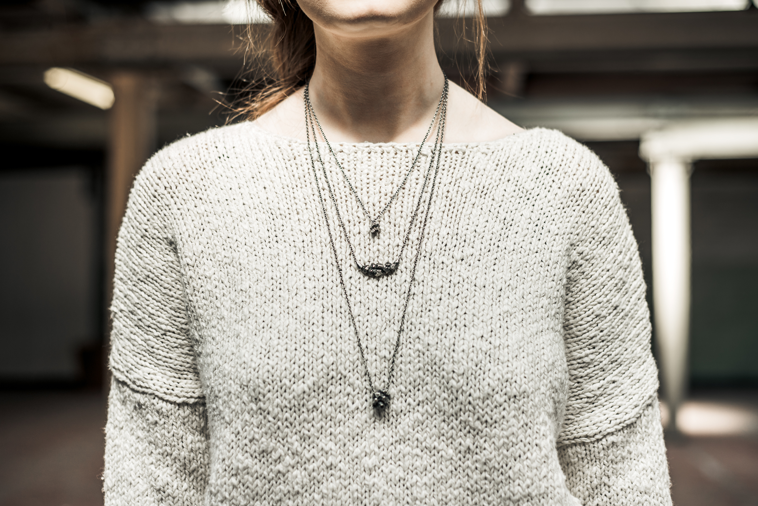 FROM TOP TOP BOTTOM - ROCKY NECKLACE, RIDGE NECKLACE, CLUSTER PENDANT.jpg