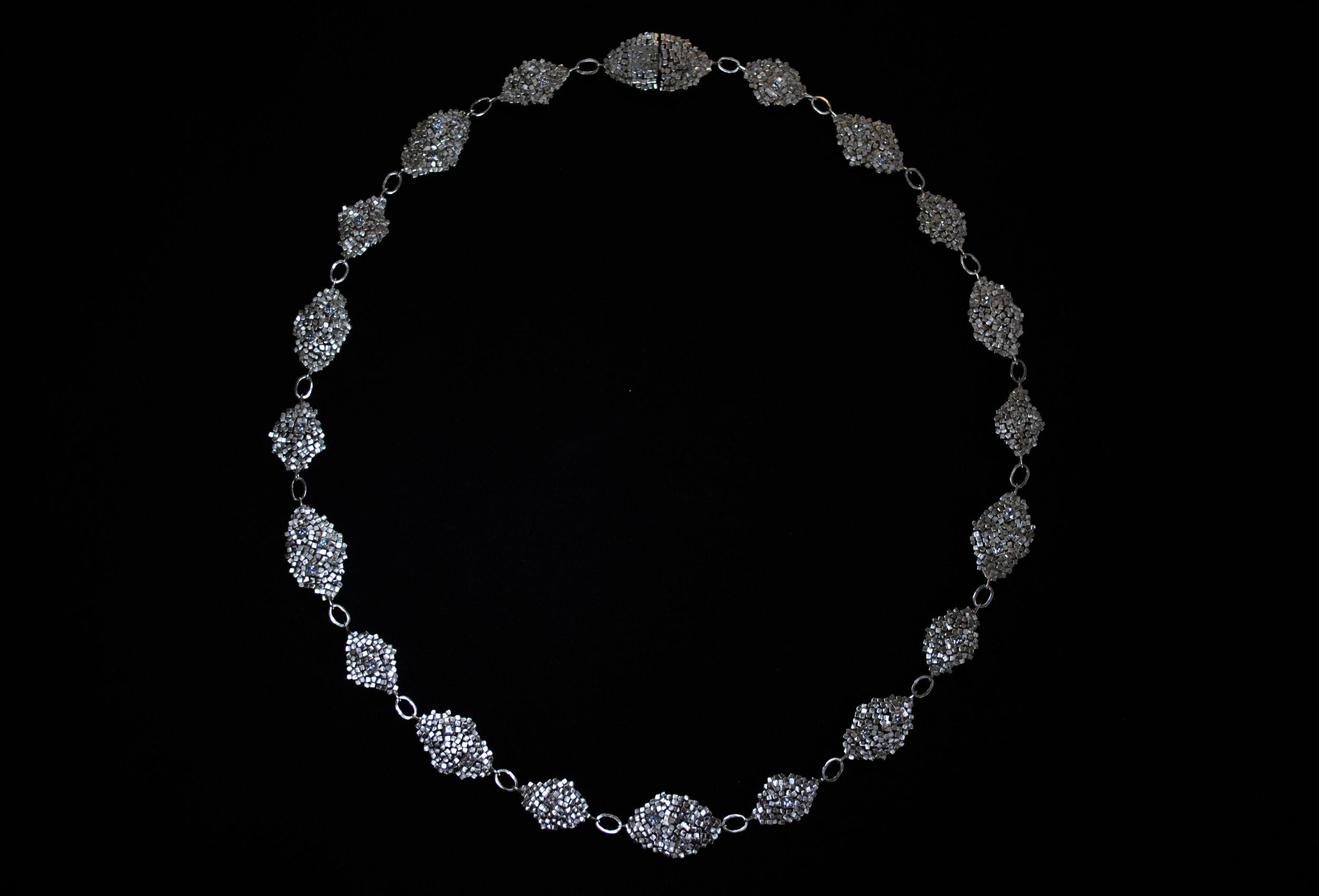 Rebecca Sarah Black - Encrusted Necklace - 2017.JPG