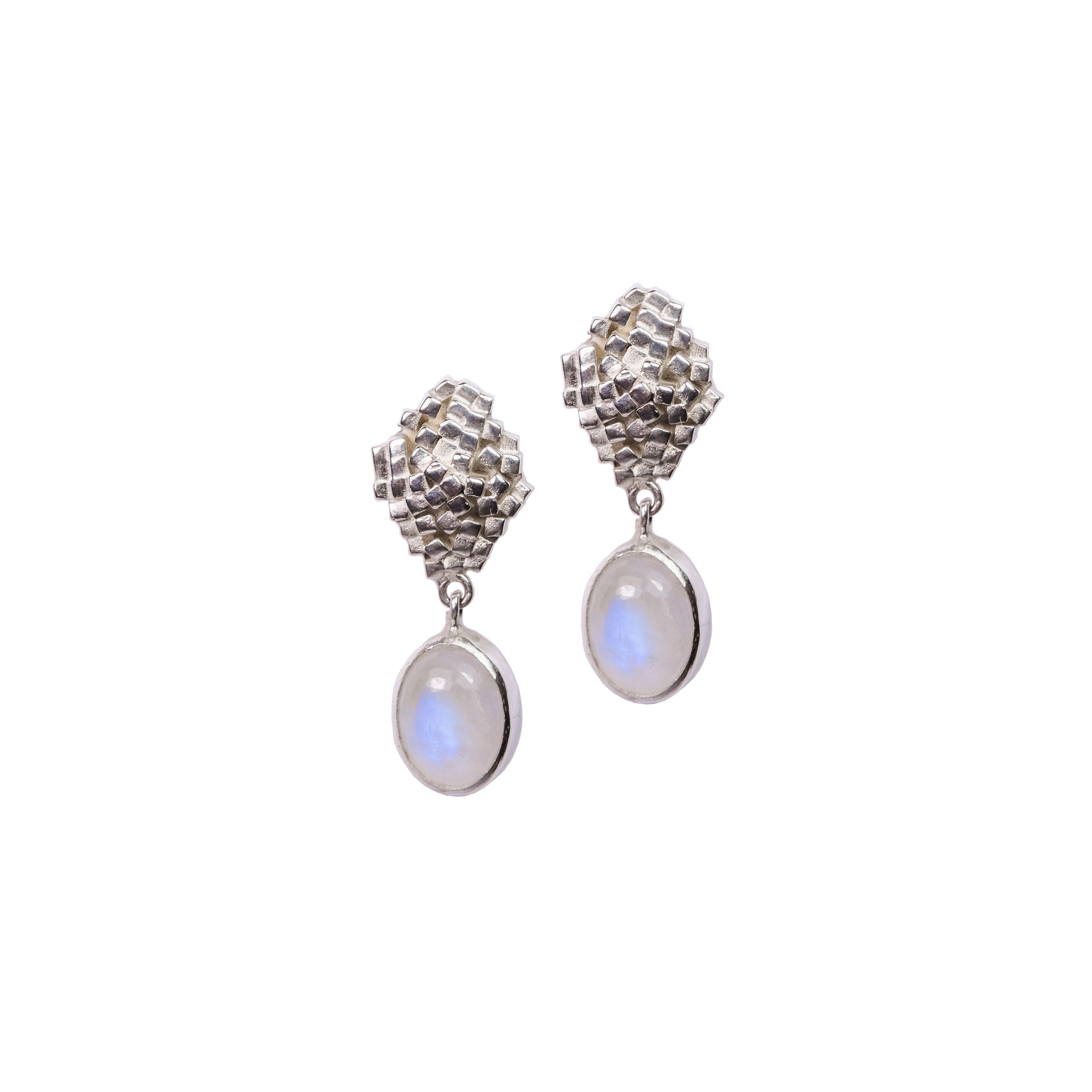 Silver and Moonstone Strata Drops.jpg