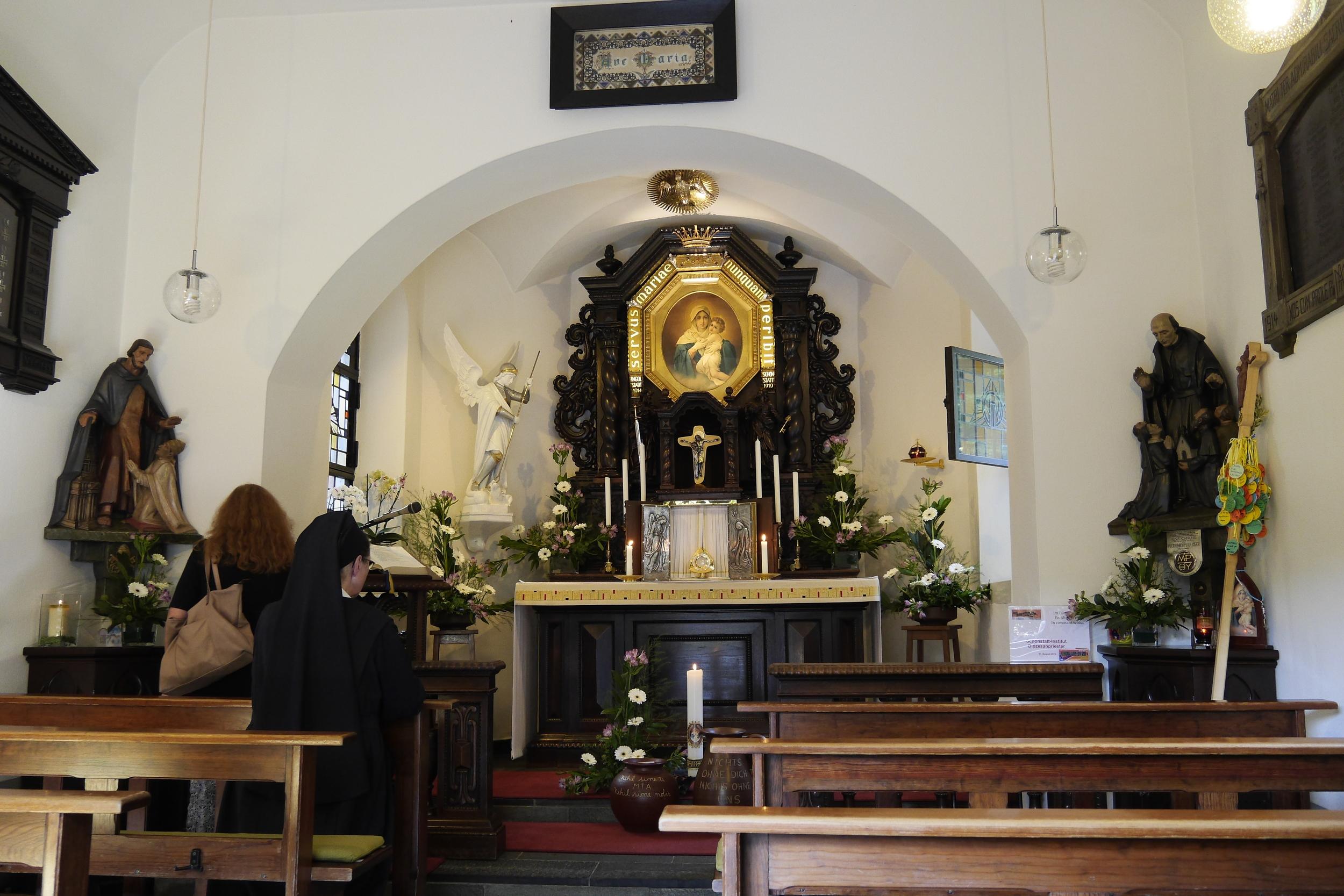 Interior del Santuario Original Alemania