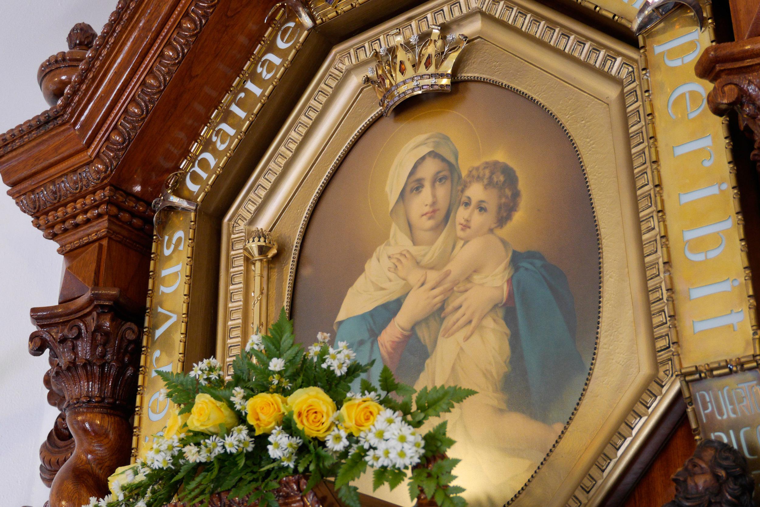 Madre y Reina Tres Veces Admirable de Schoenstatt