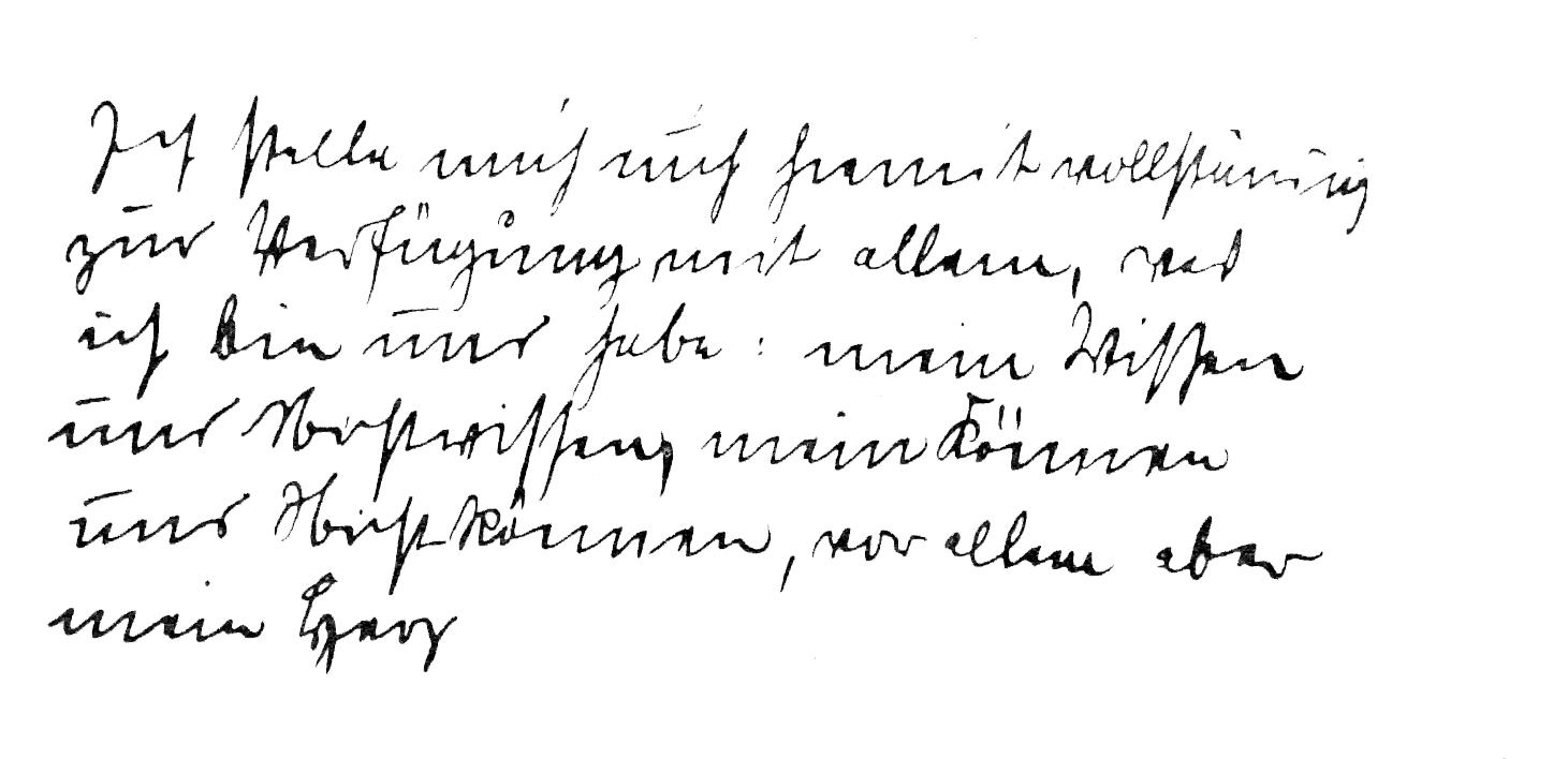 """""""Me pongo, por lo tanto, enteramente a su disposición, con todo lo que soy y tengo; con mi saber y mi ignorancia, con mi poder y mi impotencia, pero, por sobre todo, les pertenece mi corazón.""""     Tomado del «Acta de Prefundación», 27 de Octubre de 1912."""