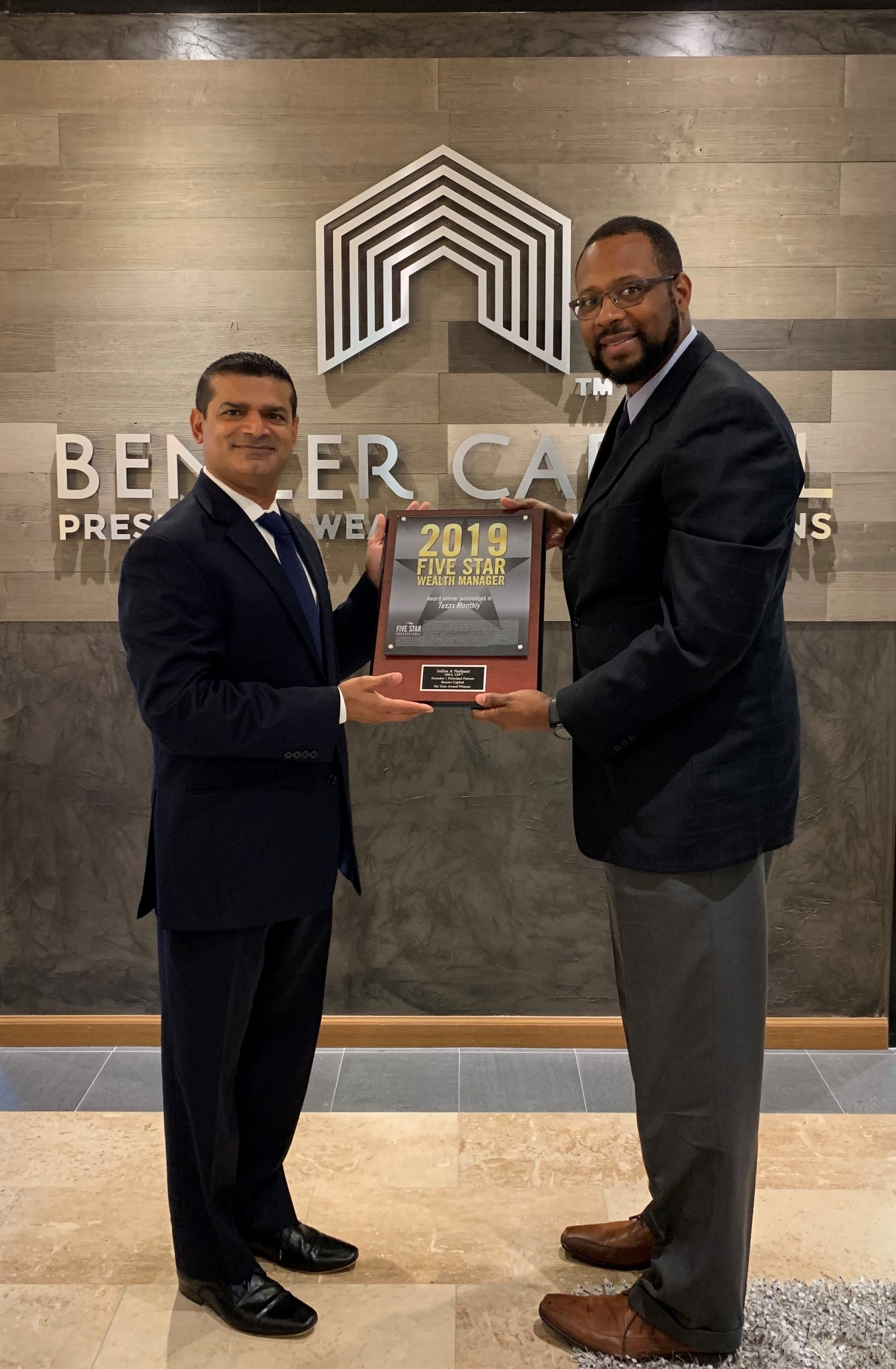 2019 Five Star Award - Benzer Capital