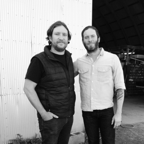 Farmer Erich and Chad Robertson of Tartine Bakery