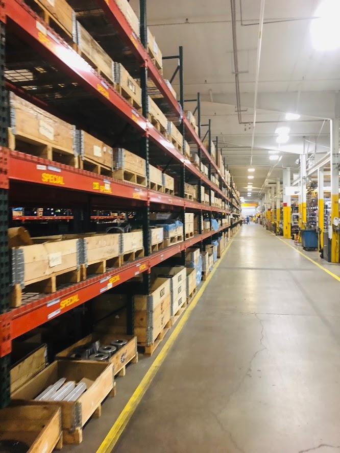Distribution Warehouse Layout