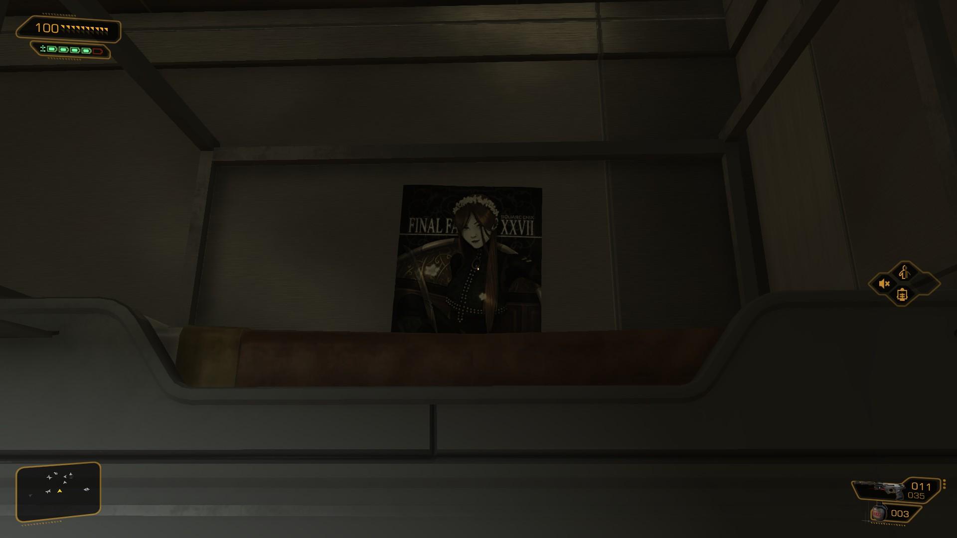 Deus Ex: Human Revolution . I laughed.