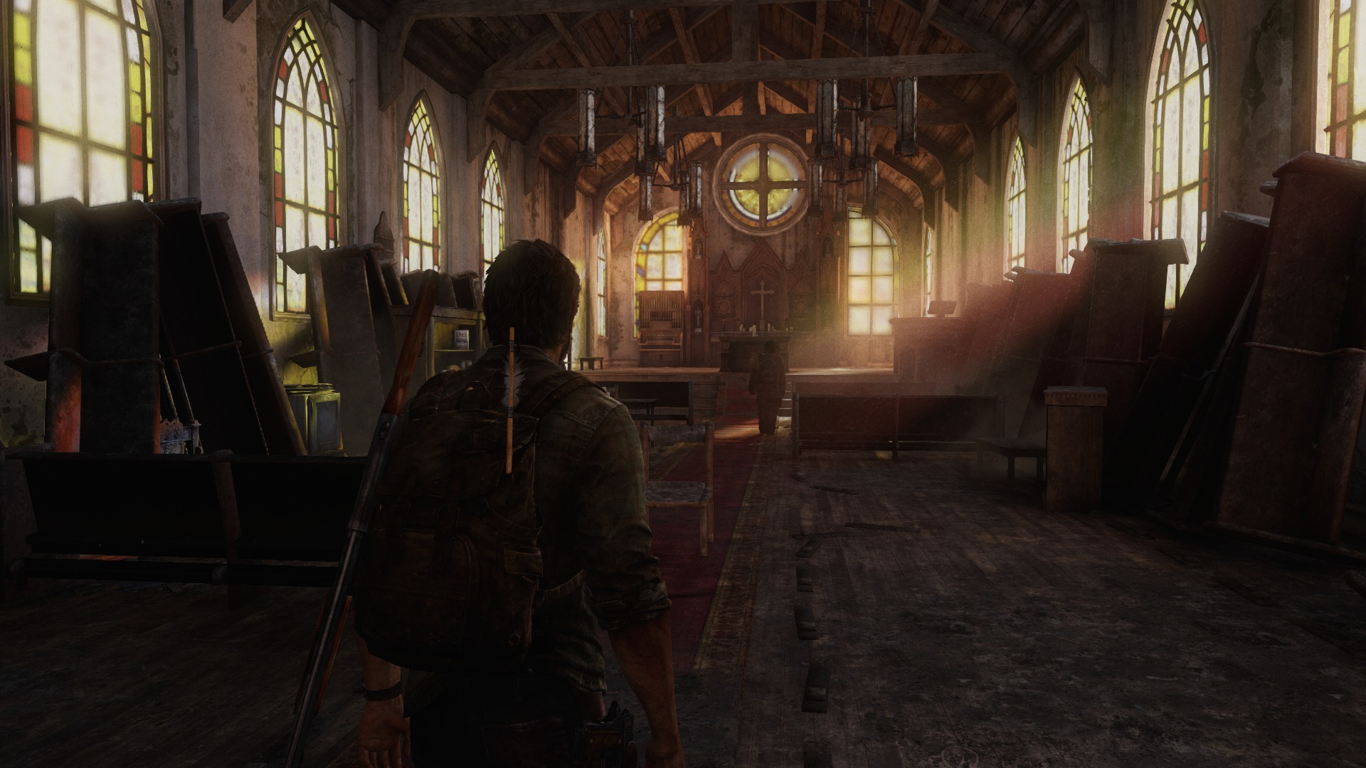 Believe this was a PS3 port? Ever notice how many Churches are in videogames? Whats up? Typically they are safe havens to load up on supplies, usually abandoned and always a beautiful interlude.