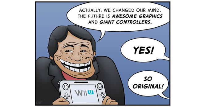 Nintendo has been doing some flip-flopping as of late...