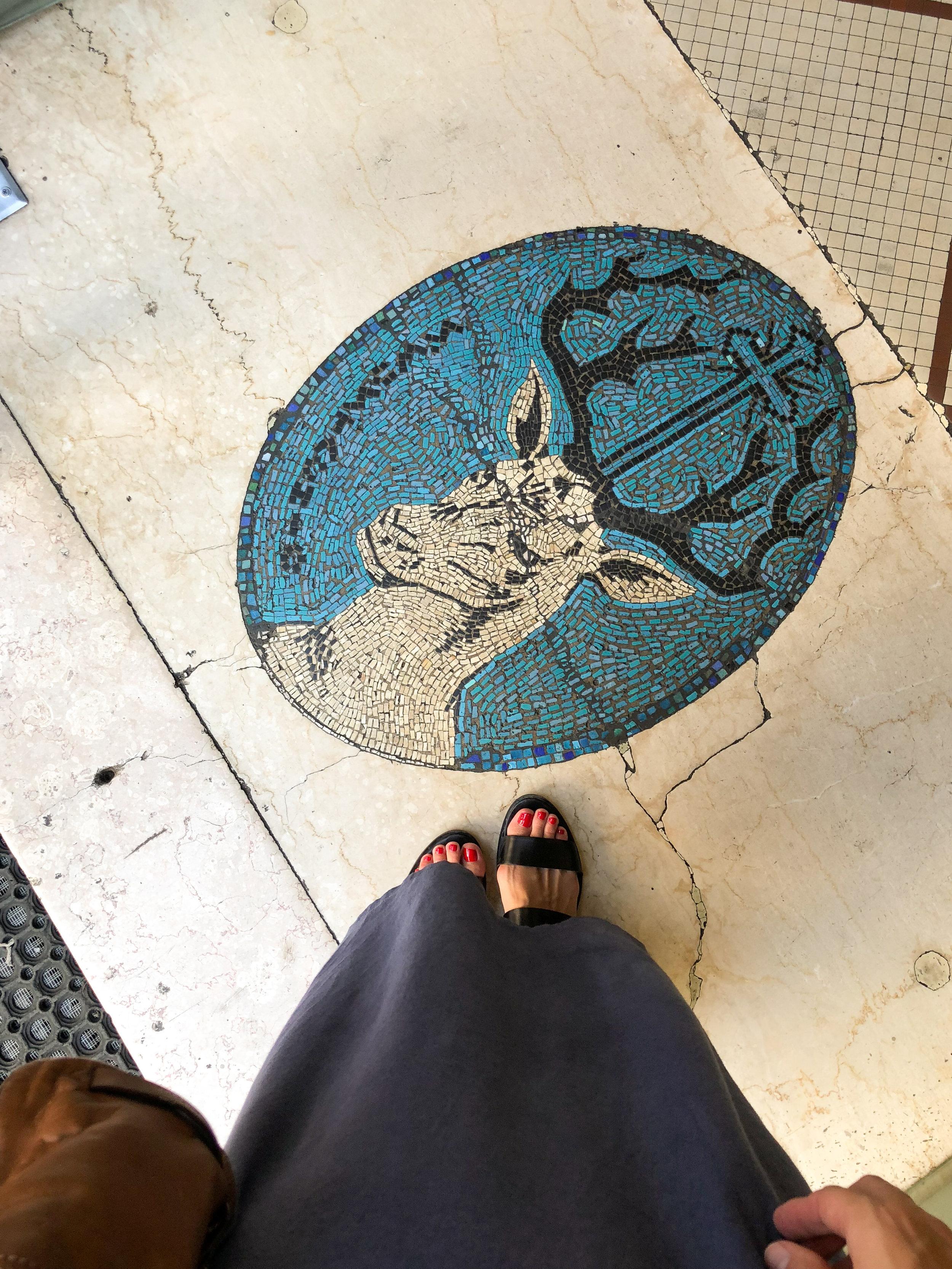visiting Sant' Eustachio