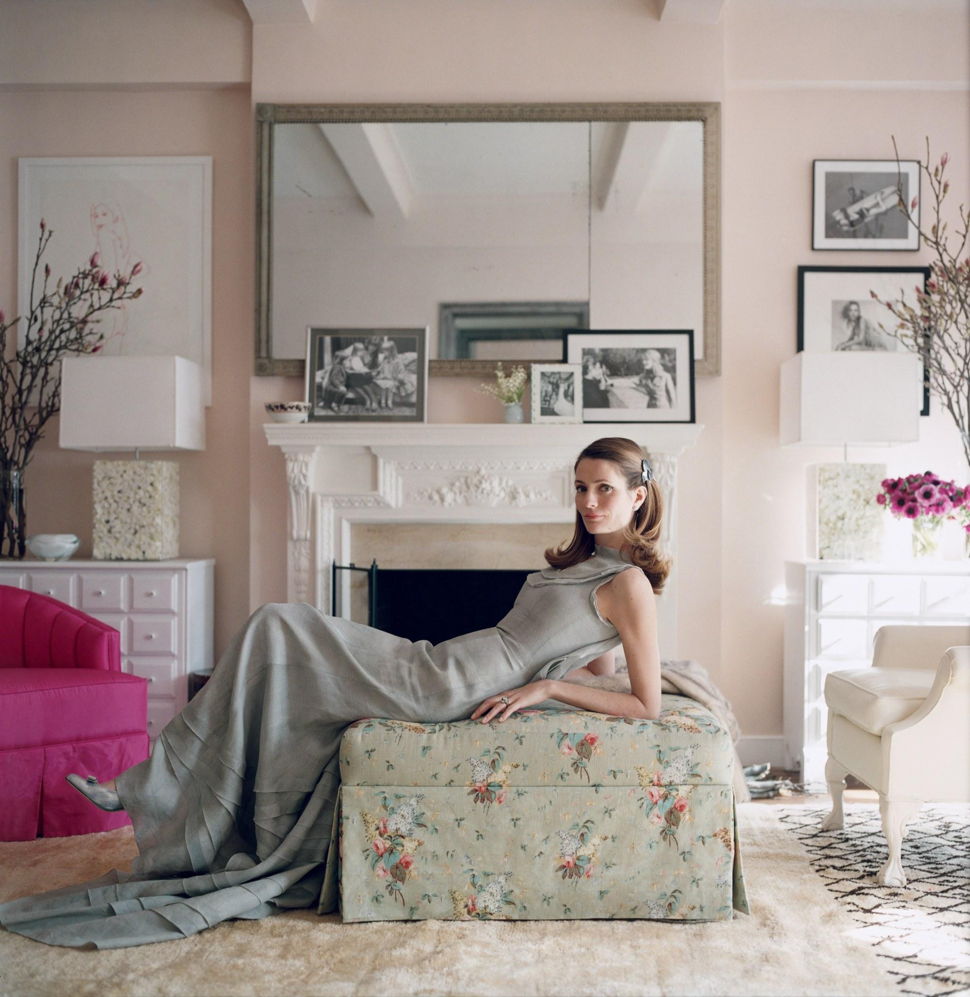 Pink Ground by Farrow & Ball; Image via Vogue Magazine