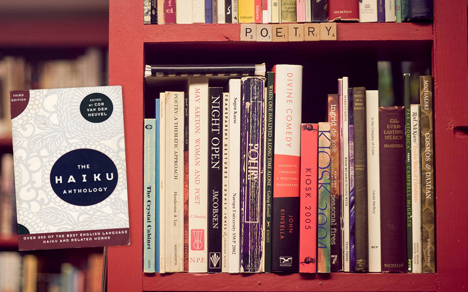 Poetry Book Shelf photo by  Chanelle Leslie