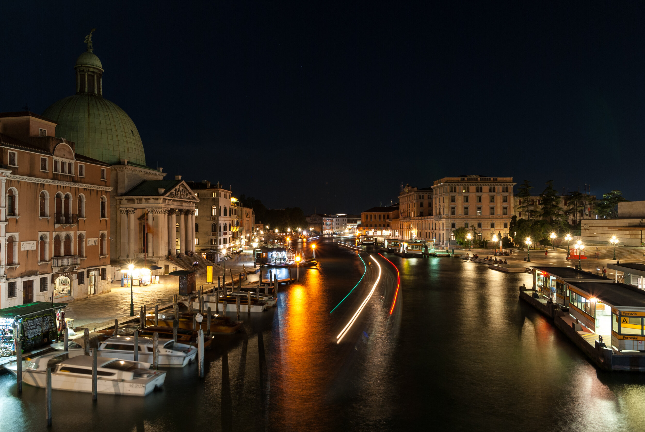 Ponte degli scalzi, Venice Italy