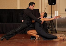 Marcia & Javier at DIT World Bank Show Dancing Tango