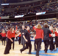 Performing at the DC Verizon Center