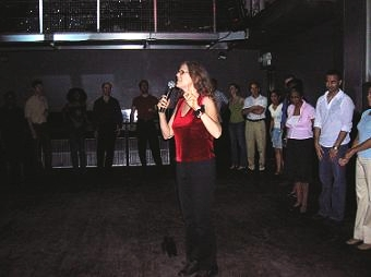 Copy of Barb Teaching at Club in Baltimore