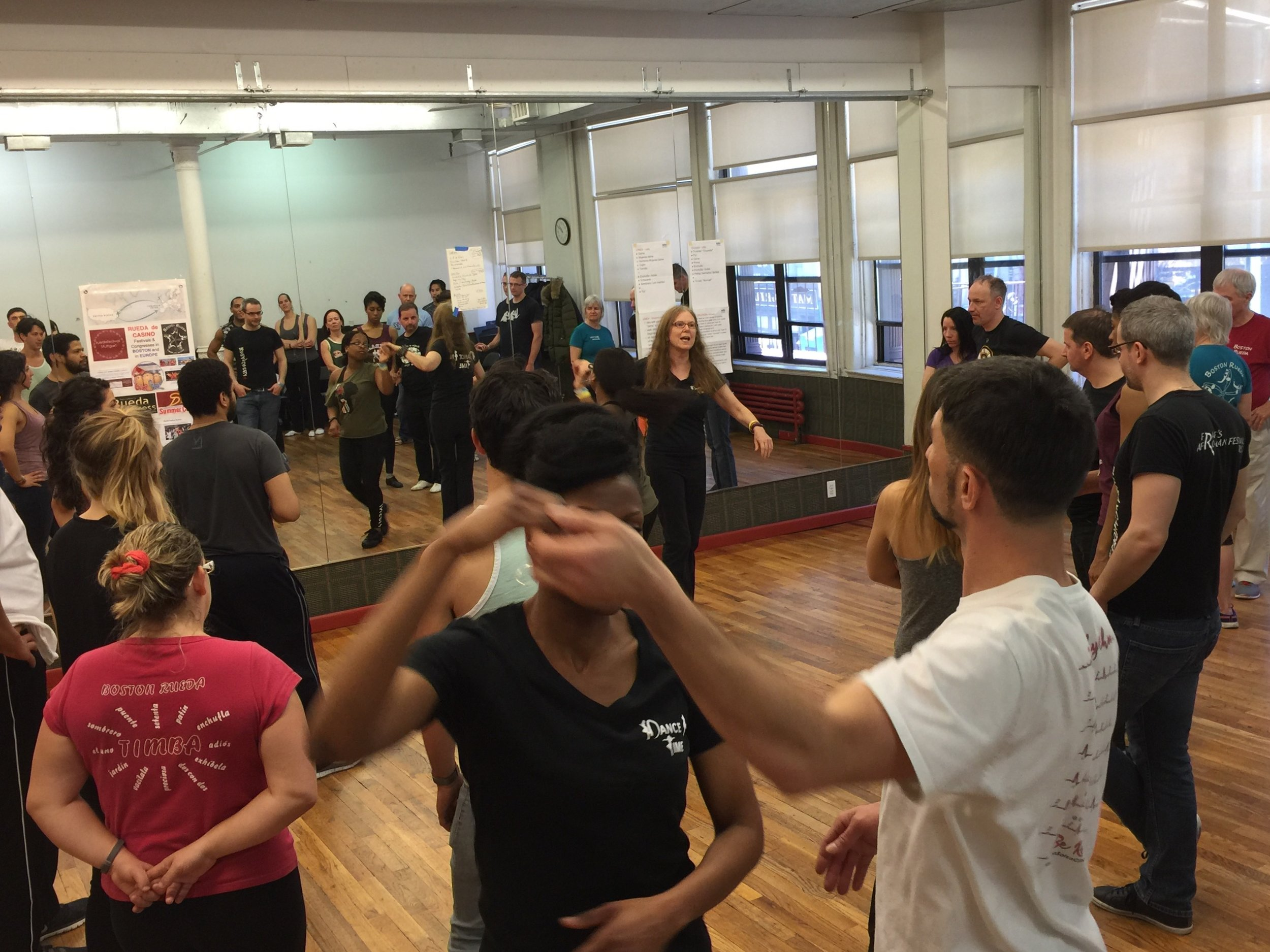Barb Teaches NY Workshop