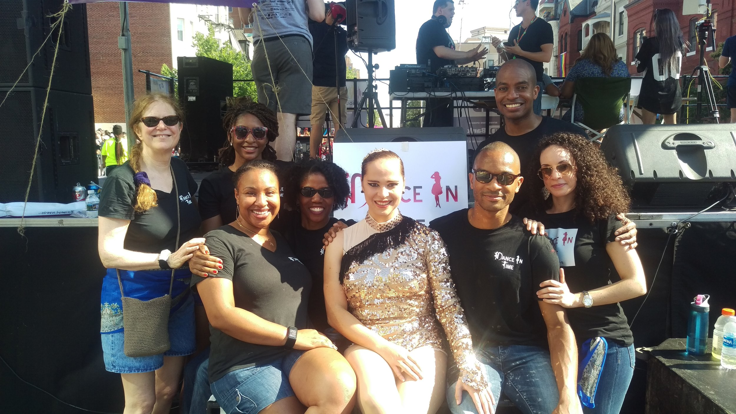 DIT Performed Colombian Salsa, Cuban Salsa, and Cha Cha for Pride Fest in DC
