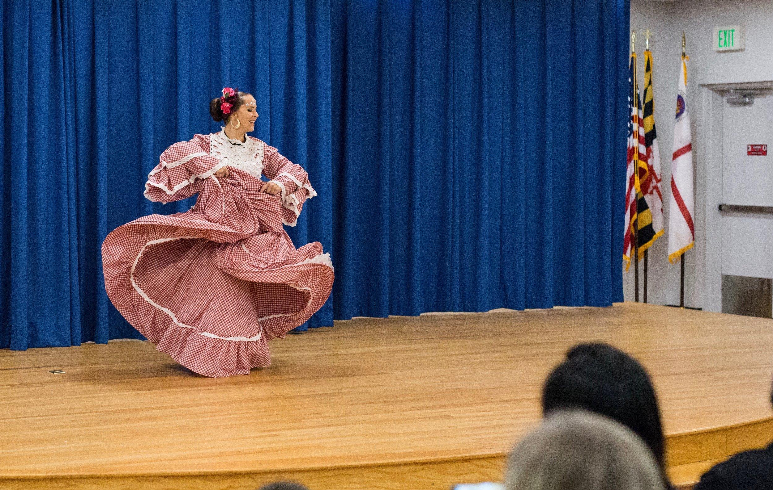 Cumbia Folkloric Performance