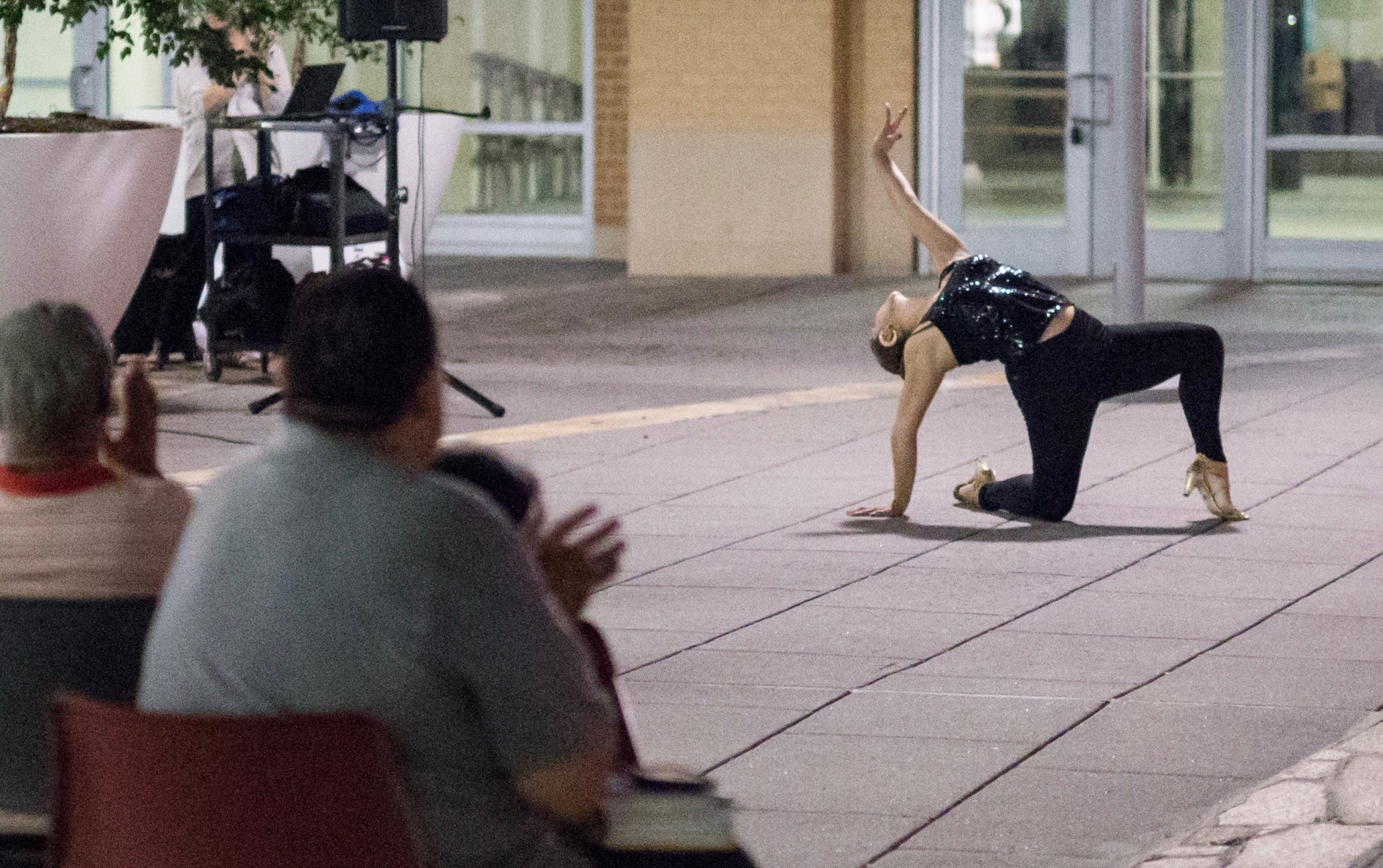 Tango Performance At Outdoor Venue In Hyattsville, MD
