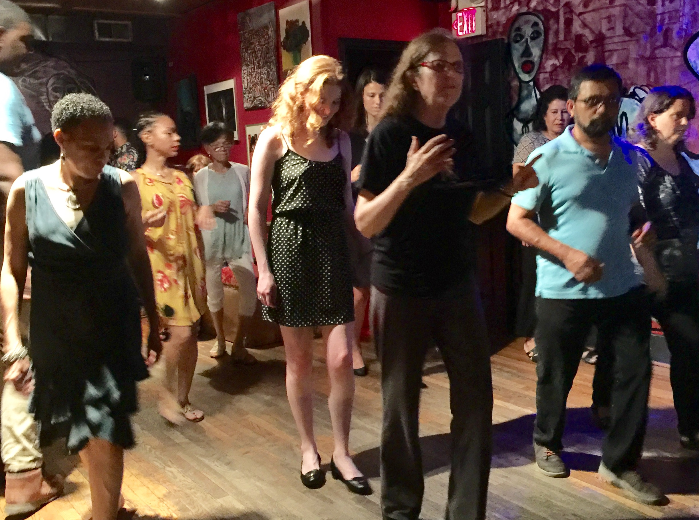 Copy of Bossa Salsa Class--First & Third Fridays