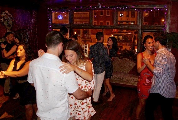 Bossa Bistro Salsa Class in DC